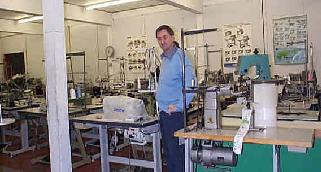 industrial         sewing machine and embroidery machine showroom